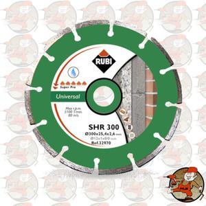 SHR300 Ref.32972 Tarcza diamentowa uniwersalna do materiałów budowlanych, obrzeże segmentowe...