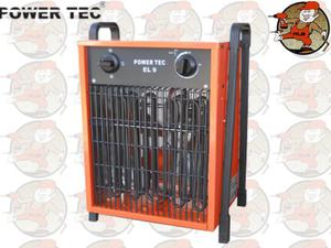 EL9 Nagrzewnica elektryczna nadmuchowa POWER TEC EL 9.1, 9.2, 9.3....