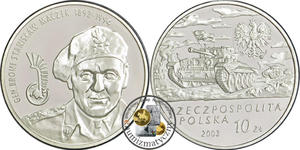 10 zł, Generał Broni Stanisław Maczek - 2848444384
