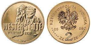 2 zł GN, Wrzesień 1939 r. - Westerplatte, 2009 - 2848444860