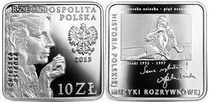10 zł, Agnieszka Osiecka, 2013, kwadrat - 2848445455