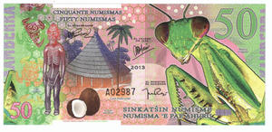 50 numismas, Kamberra, polimer, 2013 - 2848445726