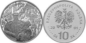 10 zł, Jan III Sobieski - popiersie - 2848444455