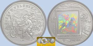 10 zł, 450 lat Poczty Polskiej, rok 2008 - 2848444487