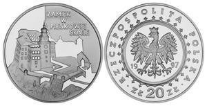 20 zł, Zamek w Pieskowej Skale - 2848444498