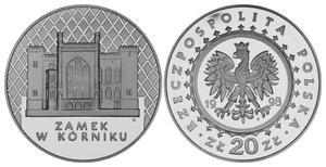 20 zł, Zamek w Kórniku - 2848444534