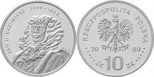 10 zł, Jan II Kazimierz - popiersie - 2848444544