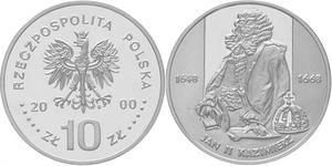 10 zł, Jan II Kazimierz - półpostać - 2848444545