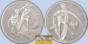 10 zł, Polska Reprezentacja Olimpijska Vancouver 2010 - 2848444557