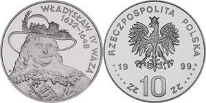 10 zł, Władysław IV Waza - popiersie - 2848444373