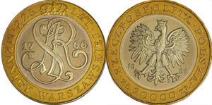 20.000 zł, 225 lat Mennicy Warszawskiej - 2848444375