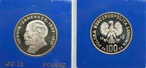 100 zł, Ludwik Zamenhof, 1979 - 2848444644