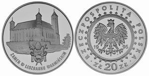 20 zł, Zamek w Lidzbarku Warmińskim - 2848444662