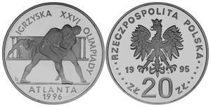 20 zł, Igrzyska XXVI Olimpiady, Atlanta 1996 - 2848444801
