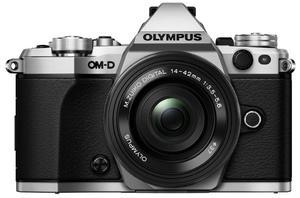 OM-D E-M5 Mark II srebrny+ ob. 14-42 EZ czarny (w magazynie!) - Dostawa GRATIS! - 2822263718