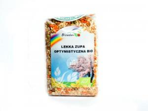 Lekka zupa optymistyczna BIO (ryż brązowy, soczewica brązowa, soczewica czerwona, soczewica zielona, fasolka mung) -250g - 1650627333