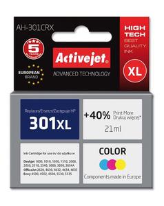 Tusz AH-564 Kolor do drukarek HP (Zamiennik HP 301XL / CH564EE) [21 ml] - 2823358844