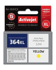 Tusz AH-364YCX Yellow do drukarek HP (Zamiennik HP 364XL / HP CB325EE) [12 ml] - 2823358901