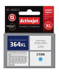 Tusz AH-364CCX Cyan do drukarek HP (Zamiennik HP 364XL / CB323EE) [12 ml] - 2823358903