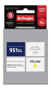 Tusz AH-951YRX Yellow do drukarek HP (Zamiennik HP 951XL / CN048AE) [25 ml] - 2823358914
