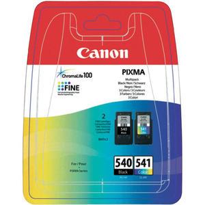 Tusz Canon PG-540 / CL-541 Multipack Czarny i Kolor do drukarek (Oryginalny) [2x8ml] - 2823359630