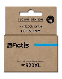 Tusz KH-920CR Cyan do drukarek HP ( Zamiennik HP 920XL / HP CD972AE) [12ml] - 2823359109
