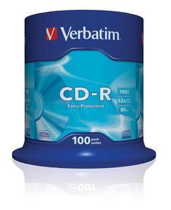 Płyty CD-R 700MB 52X EXTRA PROTECTION SP 100 szt. - 2858176629