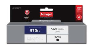 Tusz AH-970BRX Black do drukarek HP (Zamiennikk HP HP 970XL / CN625A) [240ml] - 2823359209