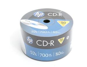 HP CD-R | 700MB | x52 | spindel 50 - 2844066426