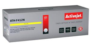 Toner Activejet ATH-F412N (do drukarki Hewlett Packard, zamiennik 410A CF412A supreme 5000str. yellow Chip) - 2853331657
