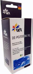 Tusz WOX-C550XLBN Black do drukarek Canon (Zamiennik Canon PGI-550BK) z chipem [25ml] - 2853331653