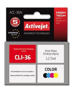 Tusz ACC-36N Kolor do drukarek Canon (Zamiennik Canon CLI-36) [12.5ml] - 2855862559