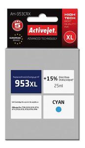 Tusz AH-953CRX Cyan do drukarek HP (Zamiennik HP 953XL / F6U16AE) [25ml] - 2855862562