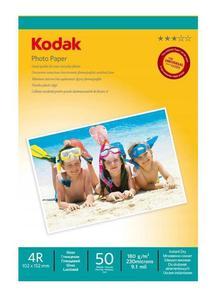 KODAK PAPIER PHOTO PAPER 180G 50 SZT 10X15 - 2863768735