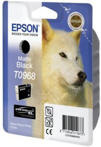 Tusz Epson T0968 Matte Black do drukarek Epson (Oryginalny) [11.4 ml]