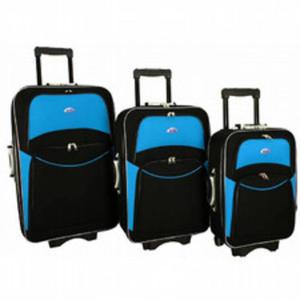2bffa79ac0c02 Komplet 3 Walizek Podróżnych Miękkie RGL 773 na kółkach 3w1 XXL-L RGL.  Torby walizki podróżne > ...