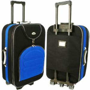891d508e027aa Walizka podróżna na kółkach kabinowa 55x40x20 Ryanair L 801 tania  materiałowa - 2869833247