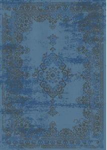 Dywan VIVID VINTAGE 120x170 niebieski ROOMZONE - 2859180294