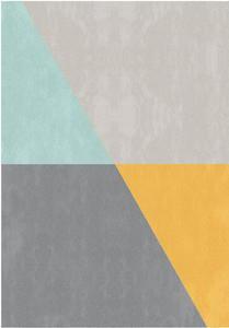 Dywan SALON OSLO 120x170 szary żółty...
