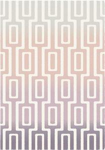 Dywan Komfort ROMA 120x170 pastelowa geometria r - 2859181578
