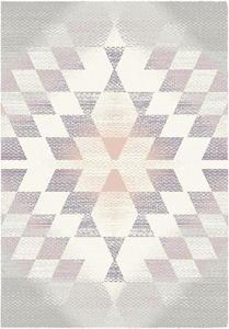 Dywan Komfort ROMA 120x170 geometria pastel romby r - 2859181579