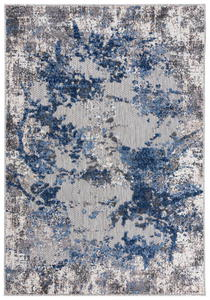 Dywan sznurkowy szary niebieski marmur beton vintage ED15A GRAY AVENTURA FEA (0.80*2.00) - 2863251333