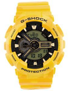 CASIO GA-110CM 9A - Żółty - 2823446904