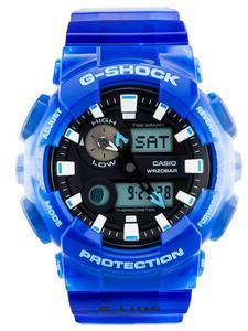 CASIO GAX-100MSA 2A - Dostępny od ręki! Wysyłka do 24h! Raty Gwarancja Wysyłka z PL - Niebieski - 2857028136