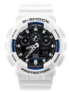 CASIO GA-100B 7A - Biały - 2841350763