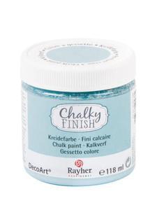 Farba kredowa - Chalky Finish, Serene, niebiesko-szary, op. 118 ml. [38-867-566] - 2829374970