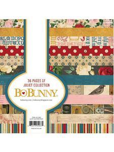 Zestaw papierów do scrapbookingu: BoBunny, Garden Juliet, 15,3x15,3 cm, 36 szt. [59-765-000] - 2829376311