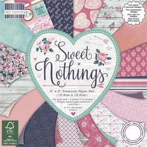 Zestaw papierów do scrapbookingu: Sweet Nothings, 15,2 x 15,2 cm, 64 szt. [60-640-000] - 2829376452