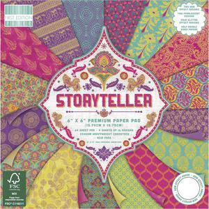 Zestaw papierów do scrapbookingu, Storyteller, 15x15 cm, 64 szt. [60-642-000] - 2878577350