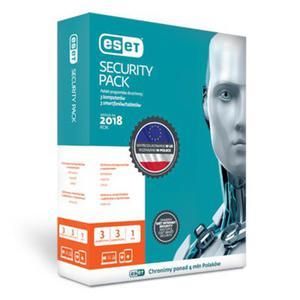 Przedłużenie licencji ESET Security Pack 3+3 na 2 lata (3 komputery + 3 smartfony) - 2824742196